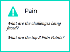 ideal customer pain points